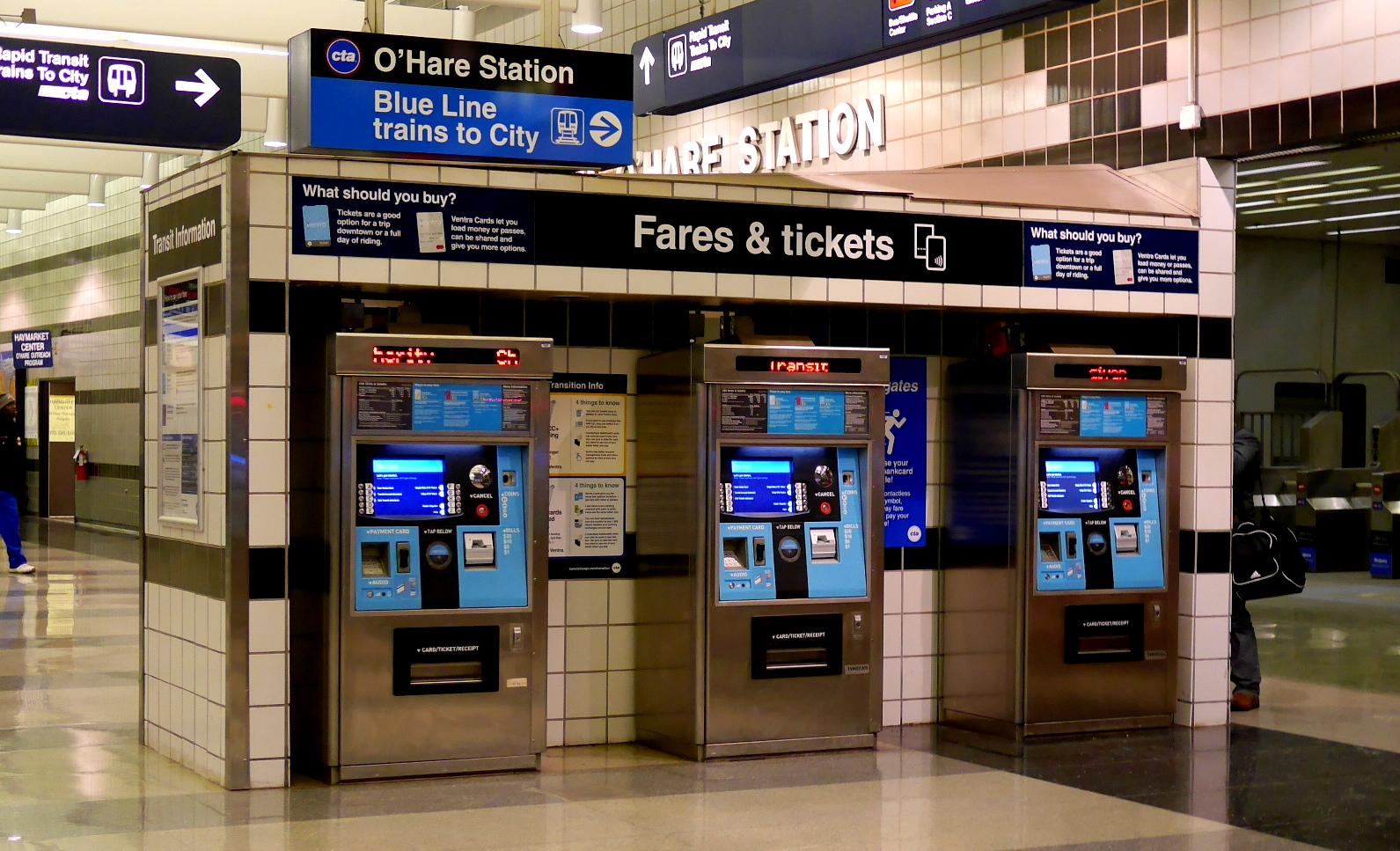 地下鉄の切符が買えない!/ シカゴとニューヨークで困らない方法