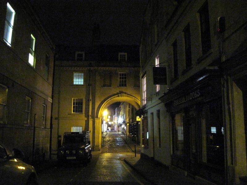 海外ツーリング イギリス コッツウォルズ ブロードウェイ タワー カースル クーム マナーハウス  夜の散歩@Bath
