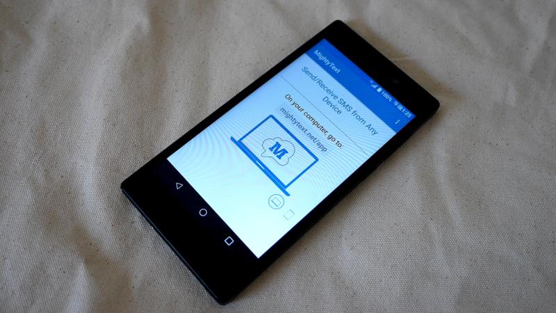 SMS(携帯電話のショートメッセージ)は旅先でも便利だが困ったことが / MightyTextの便利な使い方-日本にあるスマホを海外でチェックする