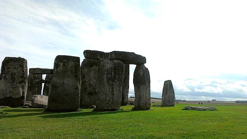 海外ツーリング イギリス ボービントン戦車博物館 ストーンヘンジ 入場料を払うと更に近くまでいける@Stonehenge