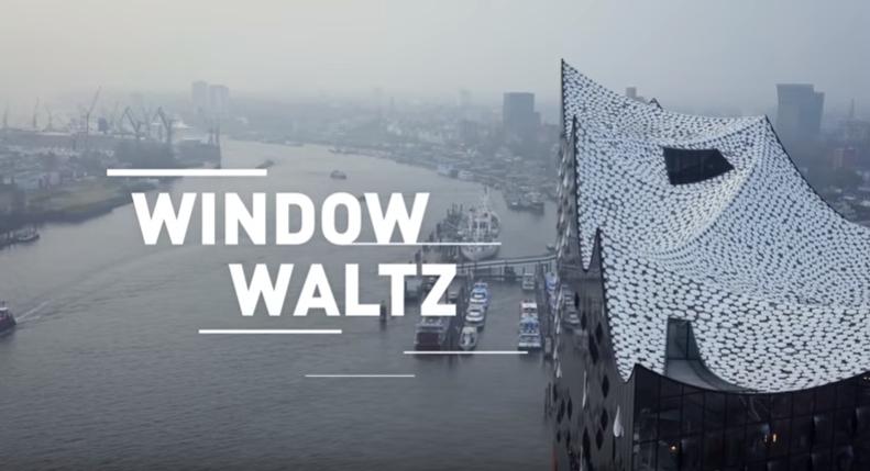 中空に浮かぶ巨大コンサートホール エルプ フィルハーモニー・ハンブルク  画面をクリックすると動画が開きます