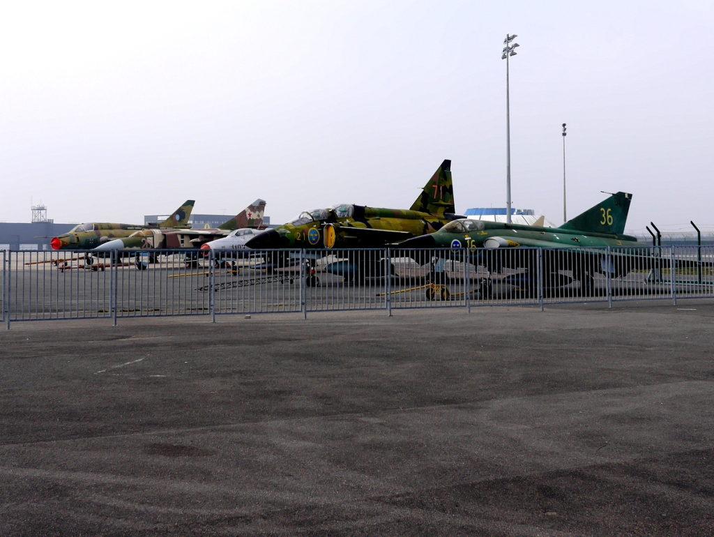 海外ツーリング フランス パリ オートバイレンタル ル ブルジェ航空宇宙博物館 コンコルド 珍しい機体 ロシア機やスウェーデン機も @Aéroport de Paris-Le Bourget