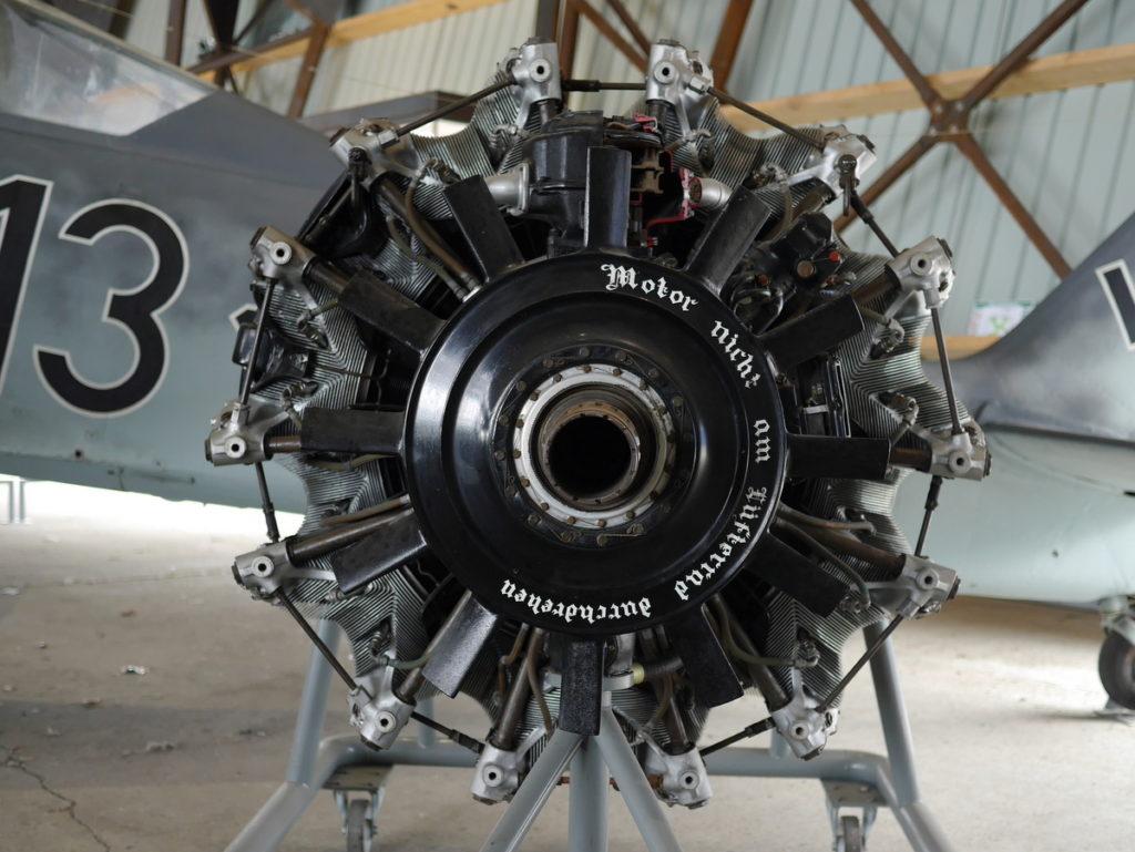 海外ツーリング フランス パリ オートバイレンタル ル ブルジェ航空宇宙博物館 コンコルド 珍しい機体 BMW 801エンジン  @Aéroport de Paris-Le Bourget