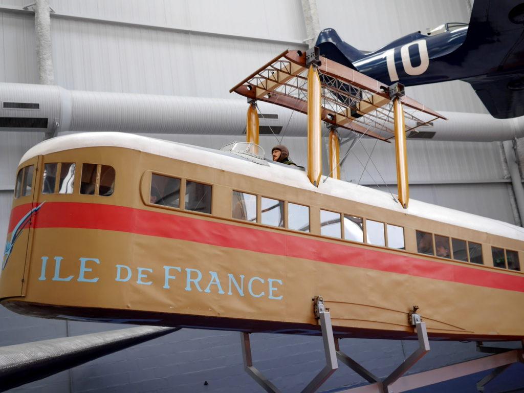 海外ツーリング フランス パリ オートバイレンタル ル ブルジェ航空宇宙博物館 コンコルド 珍しい機体  ファルマンF.60ゴリアト(Farman F.60 Goliath) @Aéroport de Paris-Le Bourget