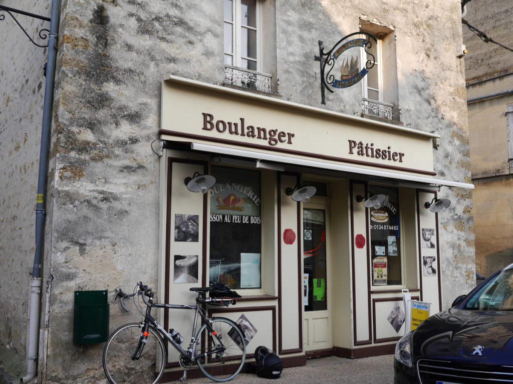 海外ツーリング フランス パリ オートバイレンタル ヴェクサン自然公園 グザングレ 農園 マスタード 田舎のパン屋  パン屋@Four à Bois du Vexin