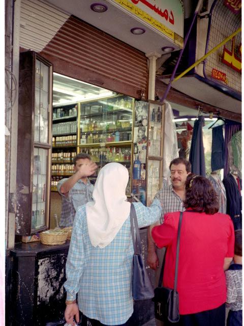 オリーブ石鹸 シリア ヨルダン 古代オリエント博物館 スーク(市場)にて @Damascus