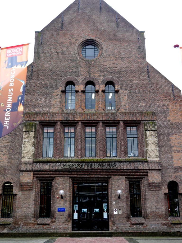 オランダ デンボス スヘルトゲンボス 訪問記 中中世の主婦の暮らしぶり 中世の資料館  中は街の歴史館(Groot Tuighuis)@Den Bosch