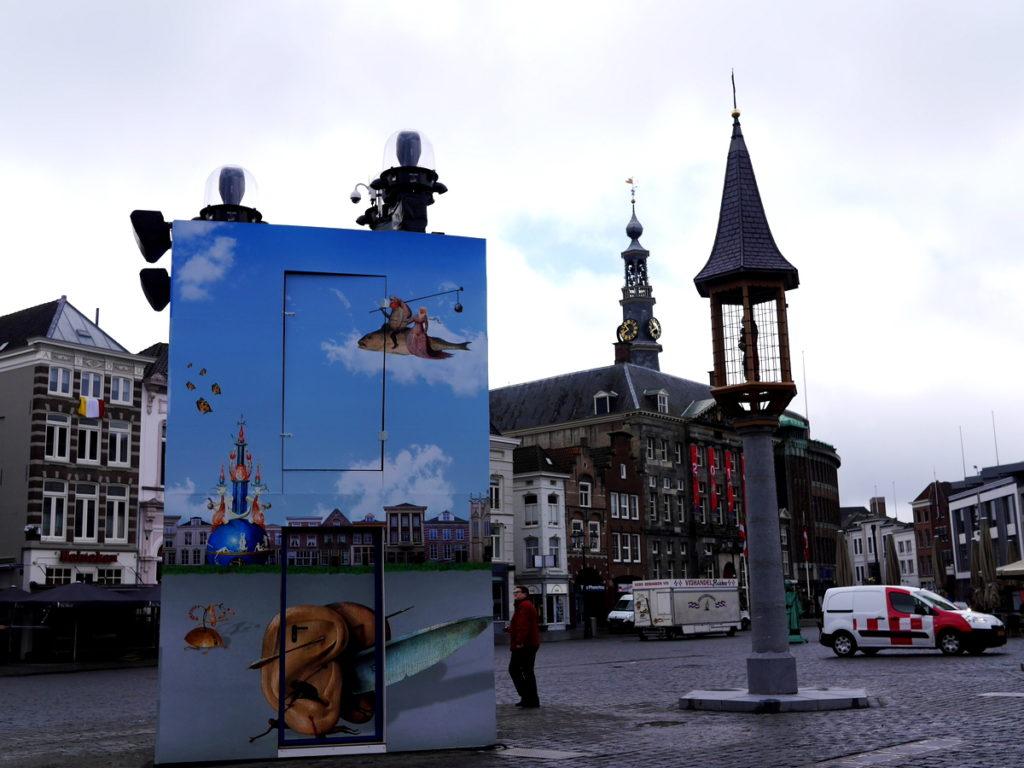 ヒエロニムス ボス オランダ デンボス スヘルトゲンボス 訪問記 北ブラバント美術館 ボス回顧展  マルクト広場もボス一色@Den Bosch