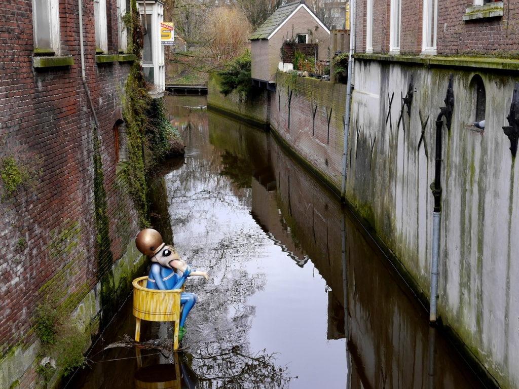 ヒエロニムス ボス オランダ デンボス スヘルトゲンボス 訪問記 北ブラバント美術館 ボス回顧展 運河の怪物 @Den Bosch