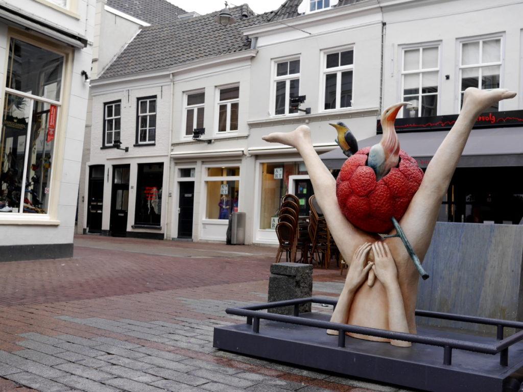ヒエロニムス ボス オランダ デンボス スヘルトゲンボス 訪問記 北ブラバント美術館 ボス回顧展 商店街の怪物 @Den Bosch