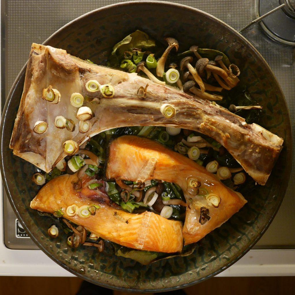 旅先で超便利なオーブン料理 魚のカマ焼き