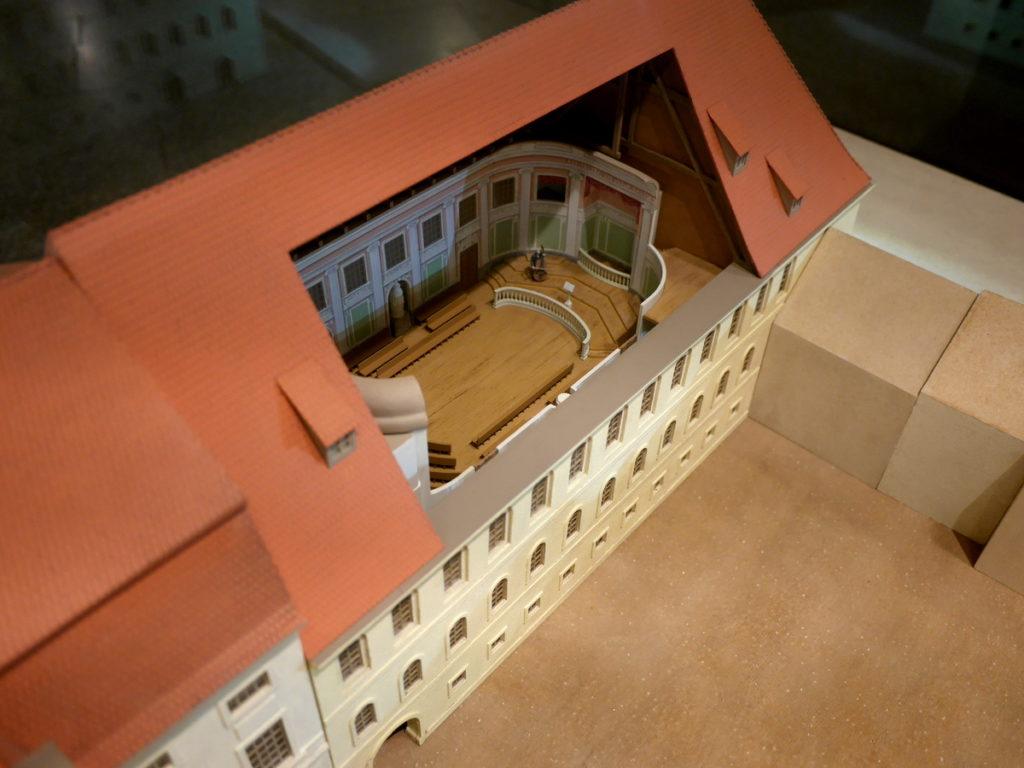 ヴィンヤード型コンサートホール ライプツィヒ・ゲヴァントハウス 初代ゲヴァントハウス(1781年)@Leipzig