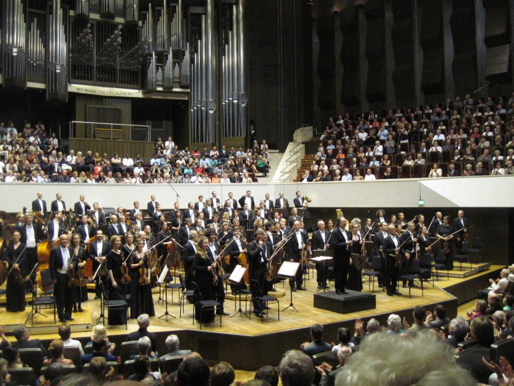 ヴィンヤード型コンサートホール ライプツィヒ・ゲヴァントハウス シャイー/ゲヴァントハウス管弦楽団 @Gewandhaus zu Leipzig