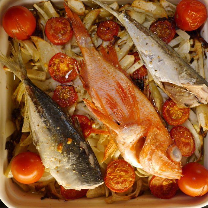 旅先で超便利なオーブン料理 漁師のグリル