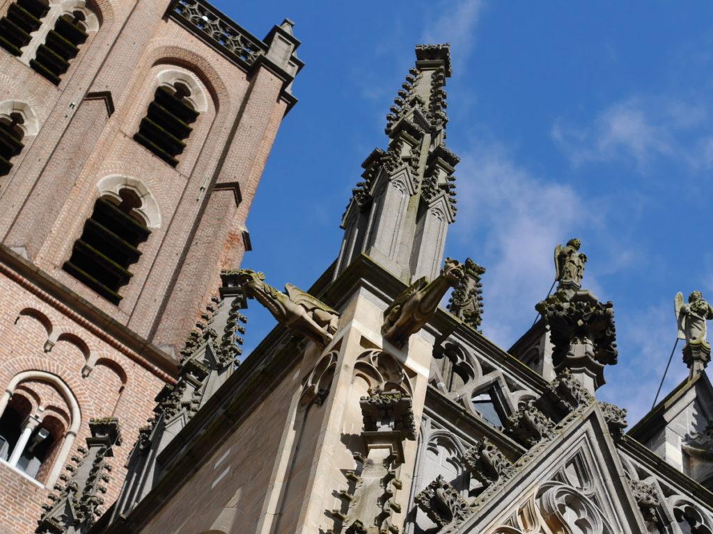 オランダ デンボス スヘルトゲンボス 訪問記 聖ヤン大聖堂 聖ジャンス聖堂 怪物たち 天使像 聖ヤン大聖堂のガーゴイル@Sint-Janskathedraal