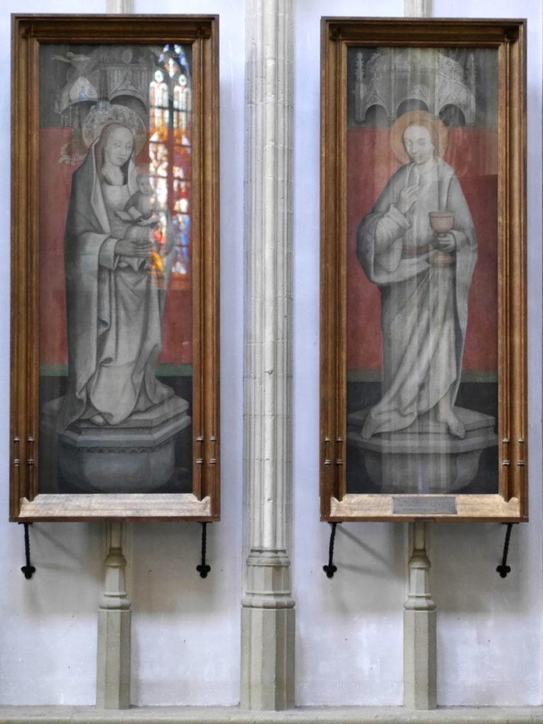 オランダ デンボス スヘルトゲンボス 訪問記 聖ヤン大聖堂 聖ジャンス聖堂 怪物たち 天使像  ヒエロムニス・ボスによる絵 ? @Sint-Janskathedraal