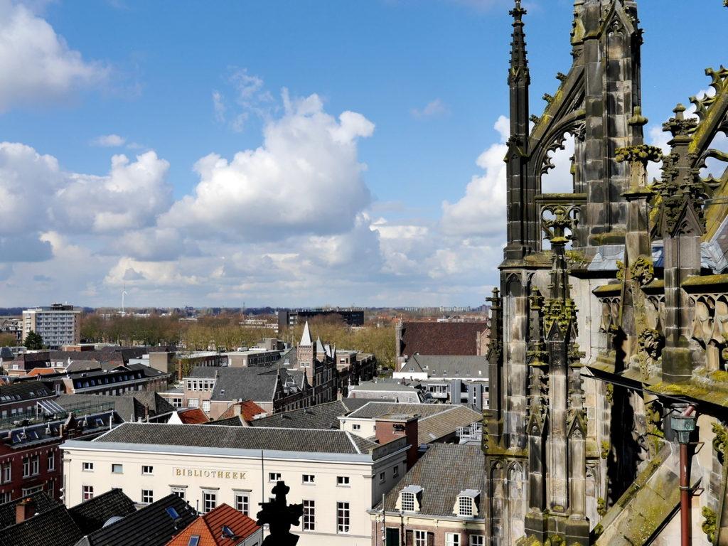 オランダ デンボス スヘルトゲンボス 訪問記 聖ヤン大聖堂 聖ジャンス聖堂 怪物たち 天使像 大聖堂屋根付近からの眺め @Sint-Janskathedraal