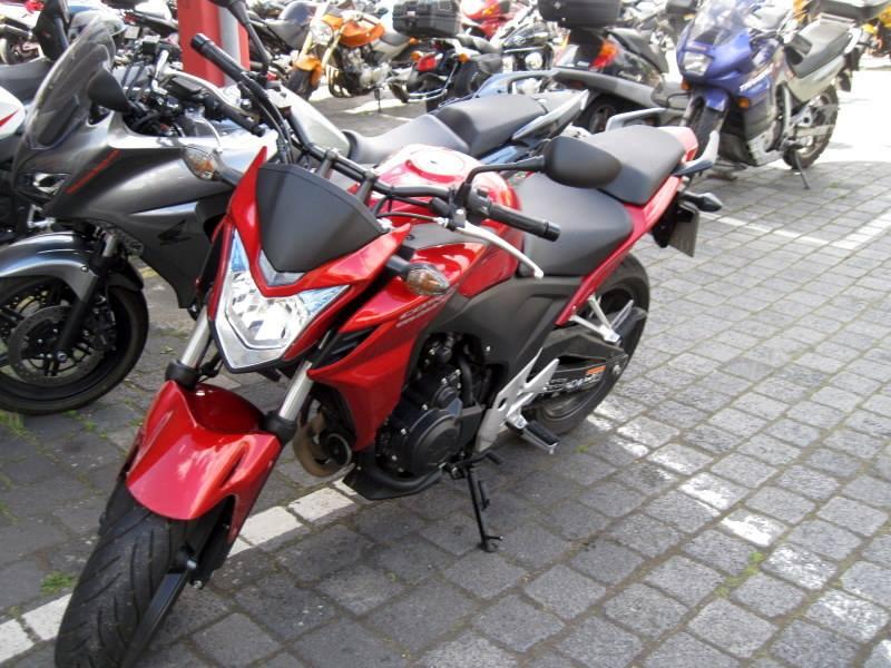 海外ツーリング ドイツ ベルリン オートバイレンタル  HONDA CBF500@Zweirad-Shop Cintula