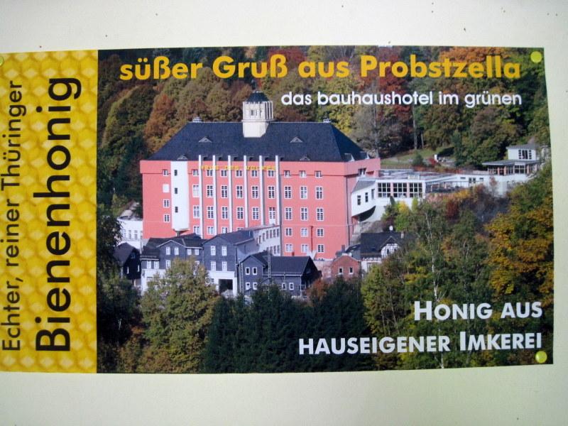 海外ツーリング ドイツ 旧東ドイツ バウハウス デザイン ホテル ハウス デス フォルケス グロピウスプロプストツェラ  ハウス・デス・フォルケス全景@Probstzella