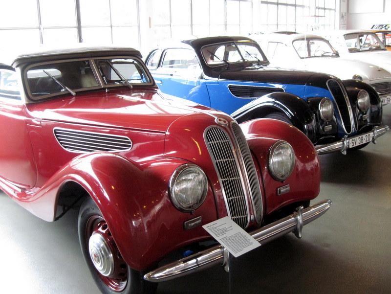 海外ツーリング ドイツ 旧東ドイツ オートバイレンタル アイゼナハ ヴァルトブルク城 ワルトブルク城 旧BMWアイゼナハ工場  EMW 327-2 cabriolet@Team Automotive Museum Eisenach e.V.