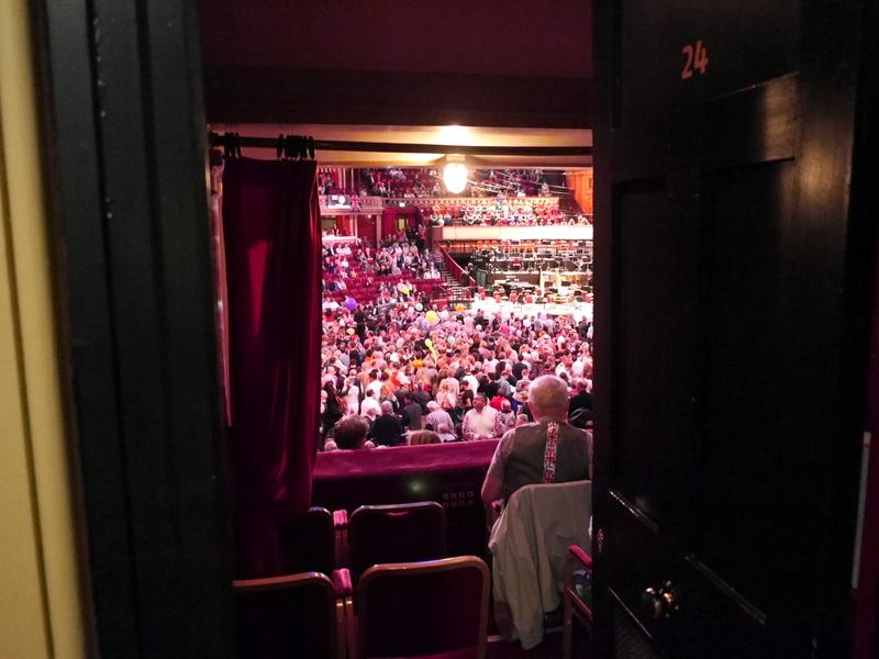 BBCプロムス最終夜とロイヤル・アルバート・ホール ボックス席@Royal Albert Hall