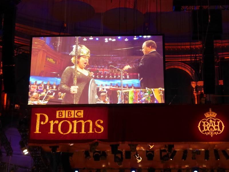 BBCプロムス最終夜とロイヤル・アルバート・ホール ワルキューレの装い? @Royal Albert Hall