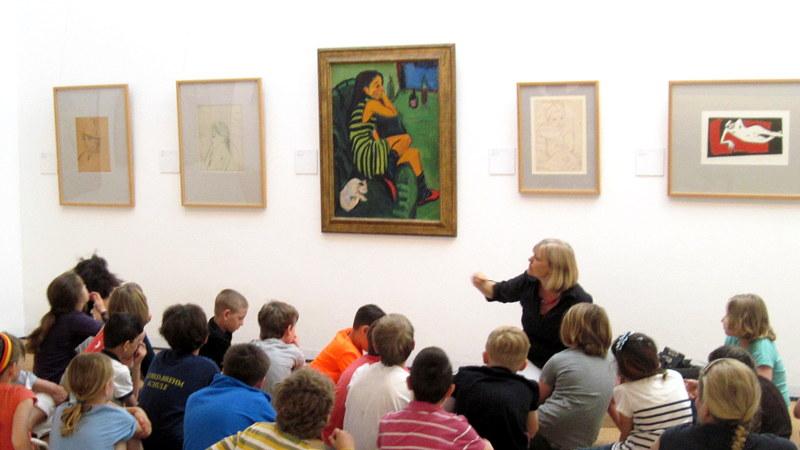 海外ツーリング-ドイツ編 7 / ダーレムのイエス・キリスト教会に立ち寄り、ブリュッケ美術館へ