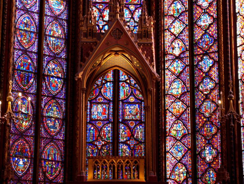 メシアン 世の終わりのための四重奏曲 ゲルリッツの捕虜収容所 時の終わりへ メシアンカルテットの物語  サント・シャペルのステンドグラス @ Sainte chapelle, Paris