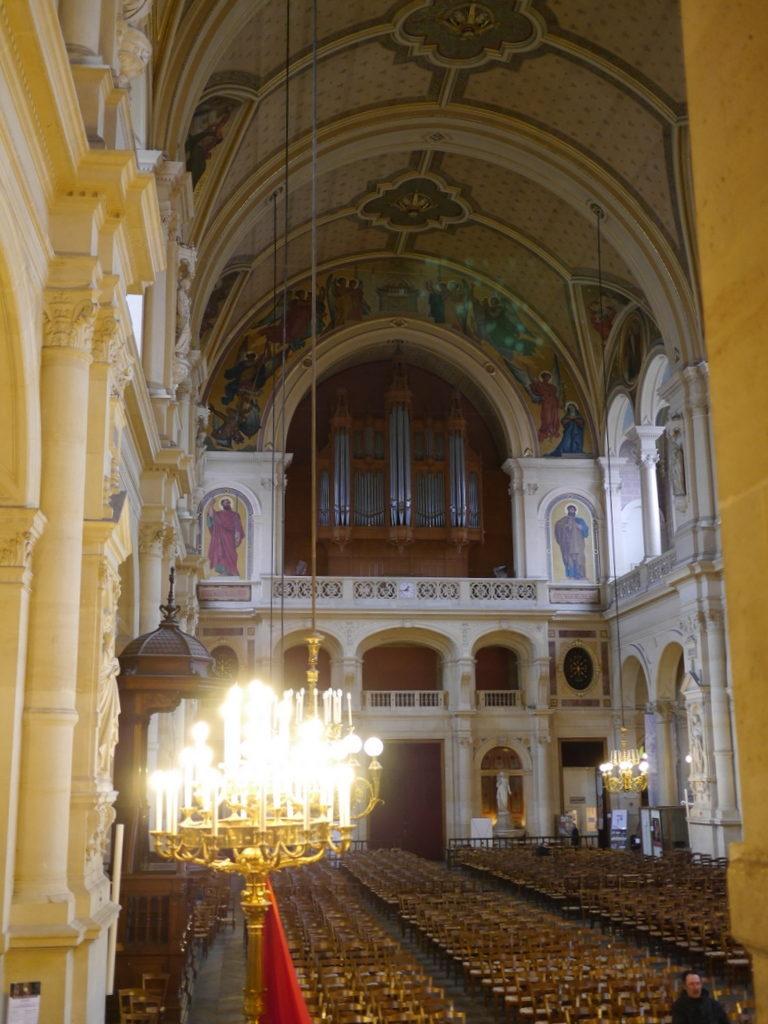 メシアン 世の終わりのための四重奏曲 ゲルリッツの捕虜収容所 時の終わりへ メシアンカルテットの物語   サントトリニテ教会のオルガン @Église de la Sainte-Trinité de Paris