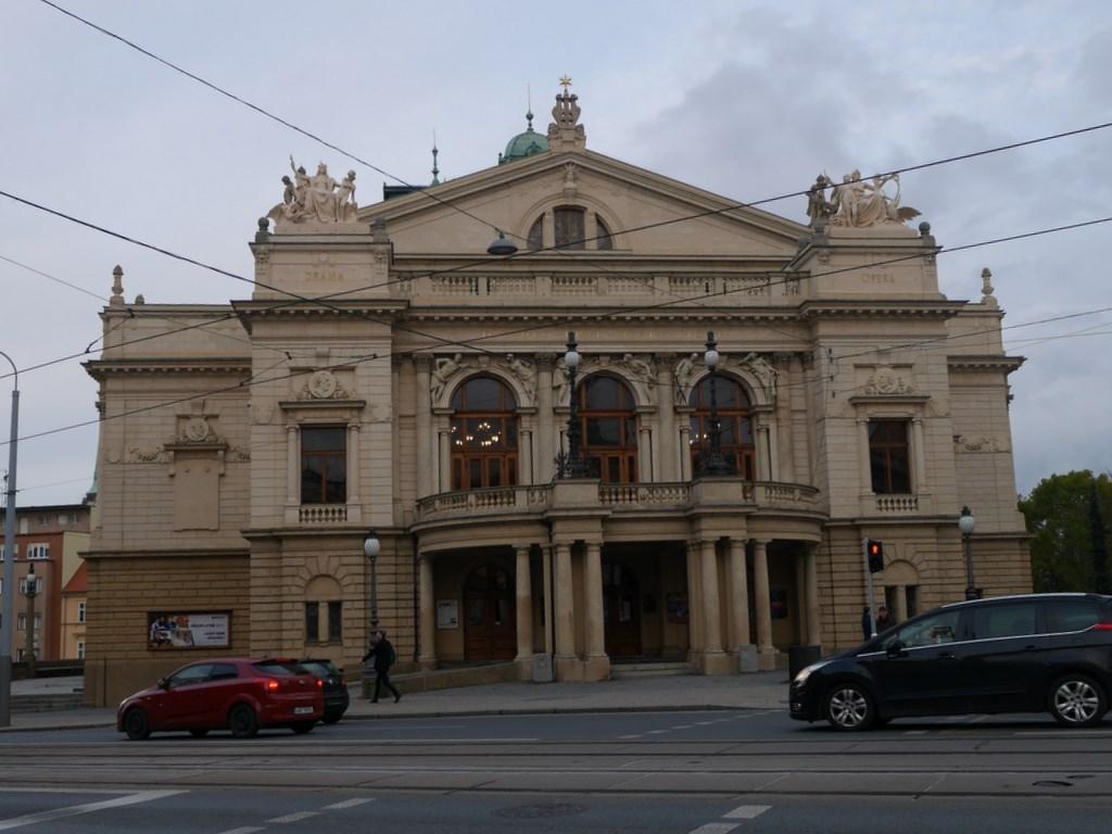 プルゼニ プルゼニュ ピルゼン チェコ ボヘミア ティル劇場(J.K. Tyl Theatre / Divadlo J.K. Tyla)