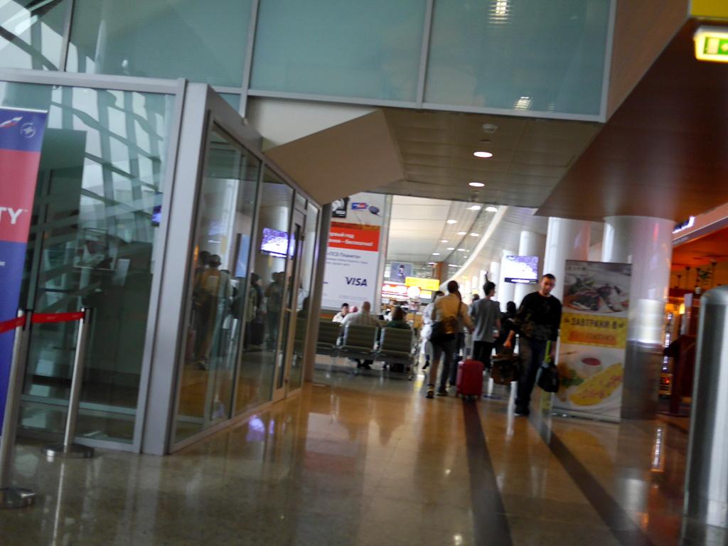 大空港の乗り継ぎ(トランジット)のミスとロストバゲージの恐怖 ここからは真っ直ぐ@シェレメーチエヴォ空港