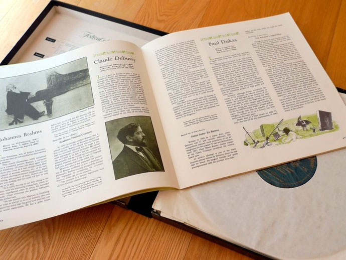 スターウォーズ ハリウッド クラシック音楽 チャールズ ゲルハルト プロデューサー 録音エンジニア ミキサー ケネス ウィルキンソン 「Festival of Light Classical Music」(当時米リーダーズ・ダイジェスト社が発行)の家庭名曲集(12枚組レコード)と詳細な解説書