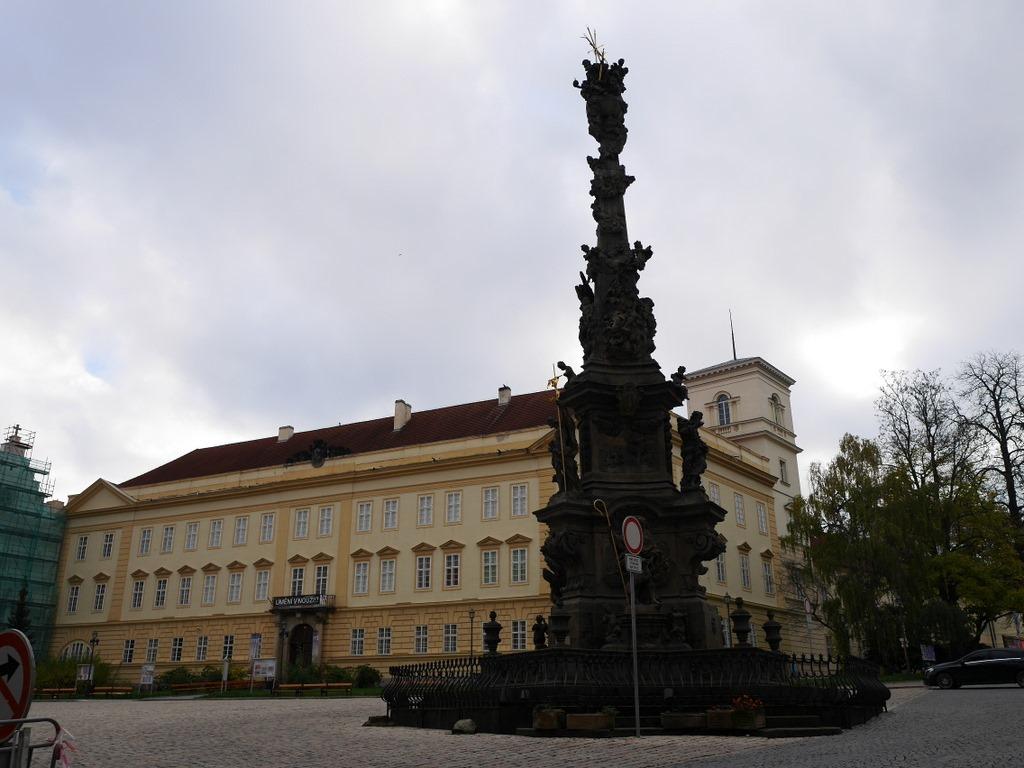 ズデーテン地方 チェコ  テプリツェ ゲーテ ベートーヴェン 不滅の恋人  広場とクラリー伯爵の城 @Teplice