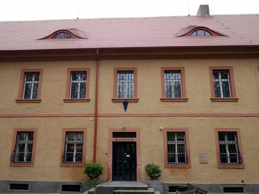 プラハ近郊 テレジーン テレジン テレージエンシュタット 小要塞 小要塞内の博物館 @Malá pevnost Terezín