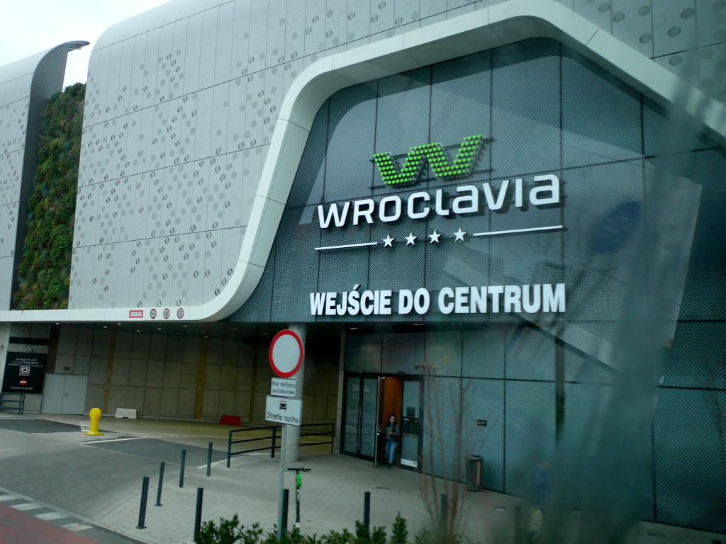 シロンスク シレジア 地方 ヴロツワフ ブロツワフ ブロツラフ ブレスラウ  ヴロツワフ バスターミナル @Wroclaw