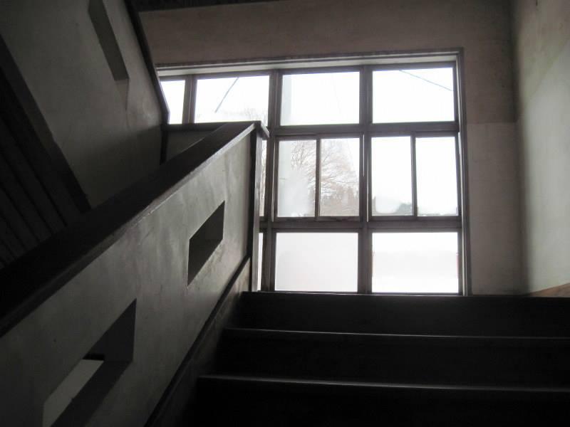 鉛温泉 藤三旅館 湯治部  湯治逗留 雪景色 年越し 自炊旅 湯治旅 自炊湯治  古い階段がいくつもある