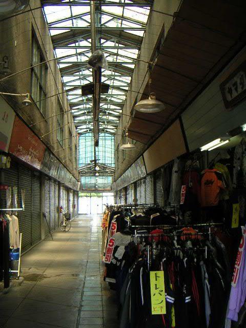 酸ヶ湯 滞在型旅行 自炊旅湯治旅 酸ヶ湯温泉旅館  2007年の中央商店街 @十和田市