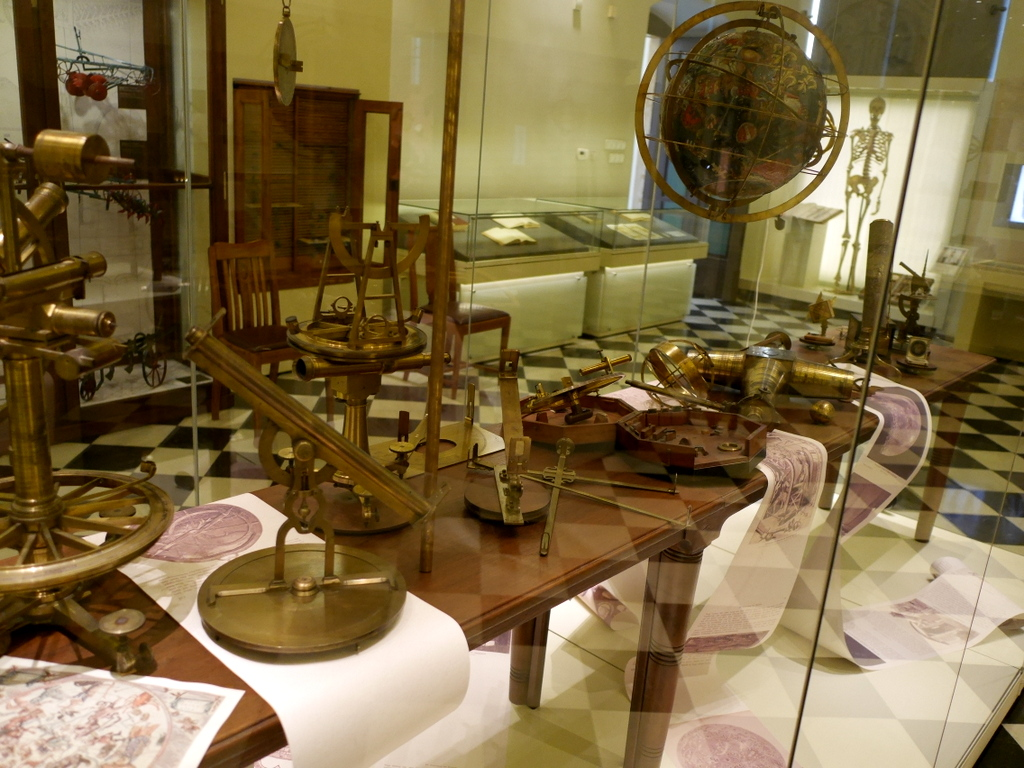 ヴロツワフ ブレスラウ 博物館 ヴロツワフ大学博物館  天球図など天文学の展示 @Muzeum Uniwersytetu Wrocławskiego