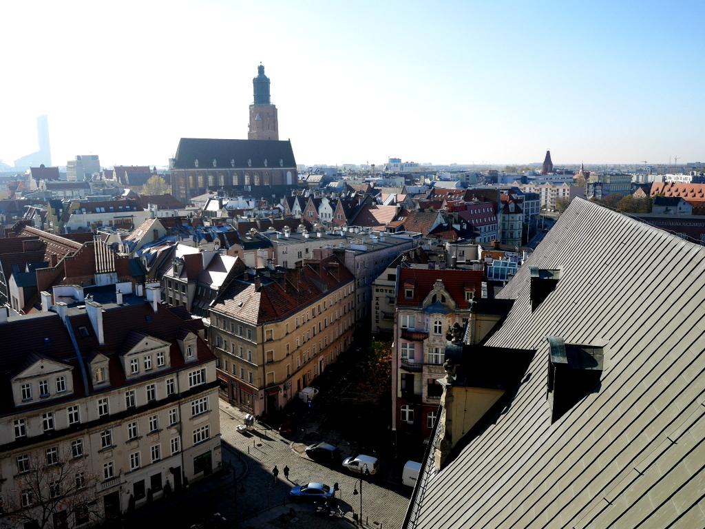 ヴロツワフ ブレスラウ 博物館 ヴロツワフ大学博物館  屋上テラスからの眺め @Muzeum Uniwersytetu Wrocławskiego