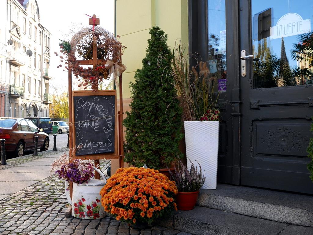 シロンスク シレジア 地方 ヴロツワフ ブロツワフ ブロツラフ ブレスラウ ナドドジェ  美しい花屋の店先 @Nadodrze