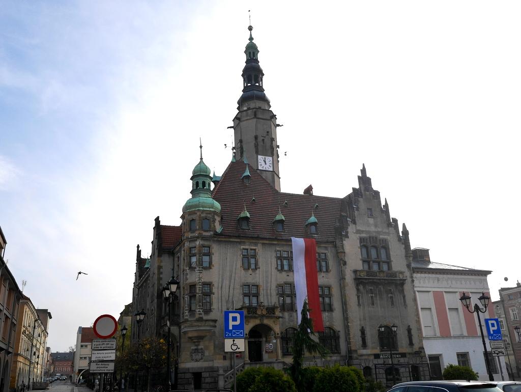 下シレジア地方 ポーランド  ヤボル  平和教会  市庁舎 @Jawor