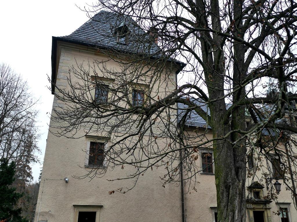下シレジア地方 ポーランド   クリチュクフ城 通常の部屋から離れた塔 @Zamek Kliczków