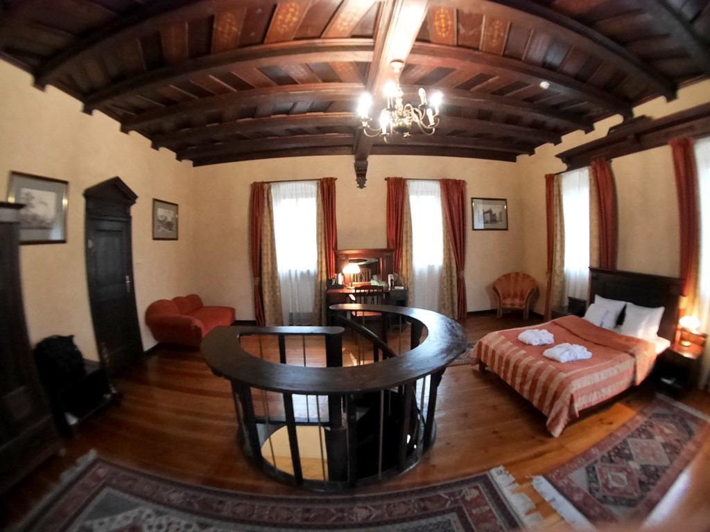 下シレジア地方 ポーランド   クリチュクフ城 2階の広い寝室 @Zamek Kliczków