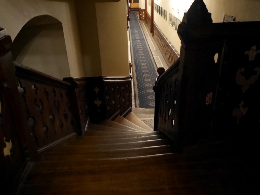 下シレジア地方 ポーランド   クリチュクフ城 入り組んだ階段や廊下 @Zamek Kliczków