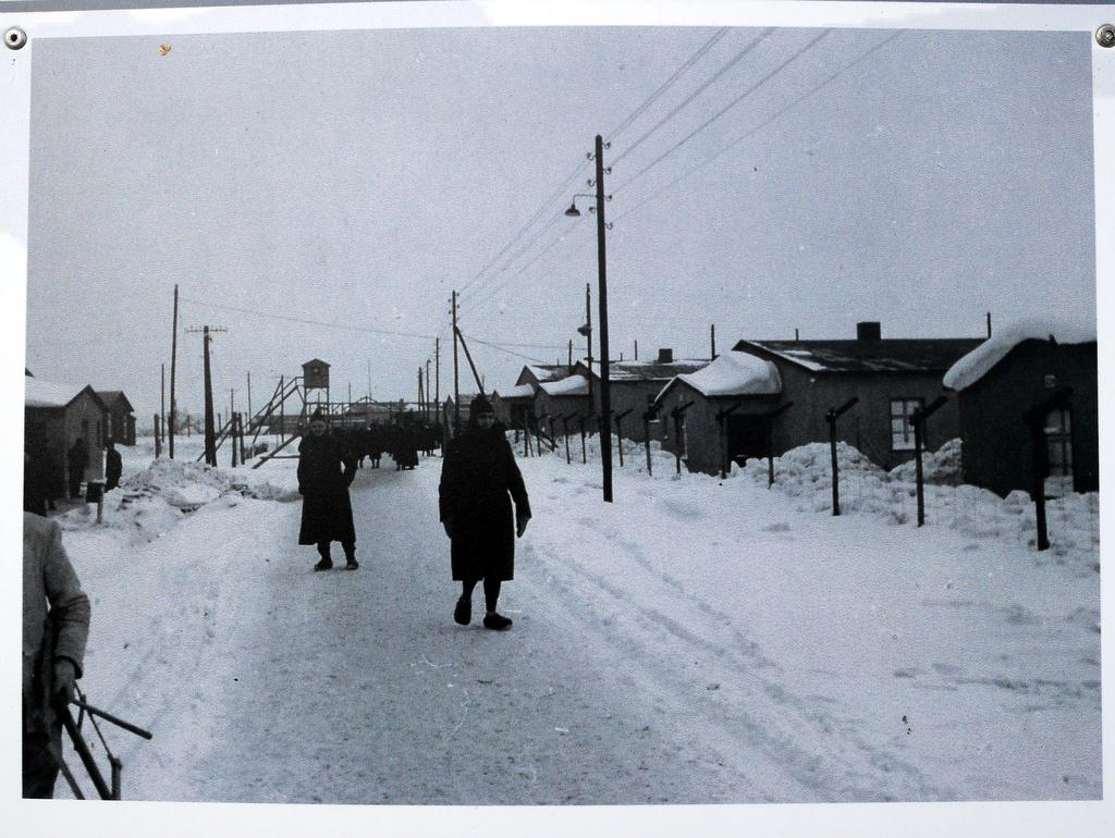 ゲルリッツ ズゴジェレツ ポーランド 捕虜収容所 Stalag VIII-A ポーランド第2軍 墓地 当時のStalag VIII-A 収容所 @Zgorzelec