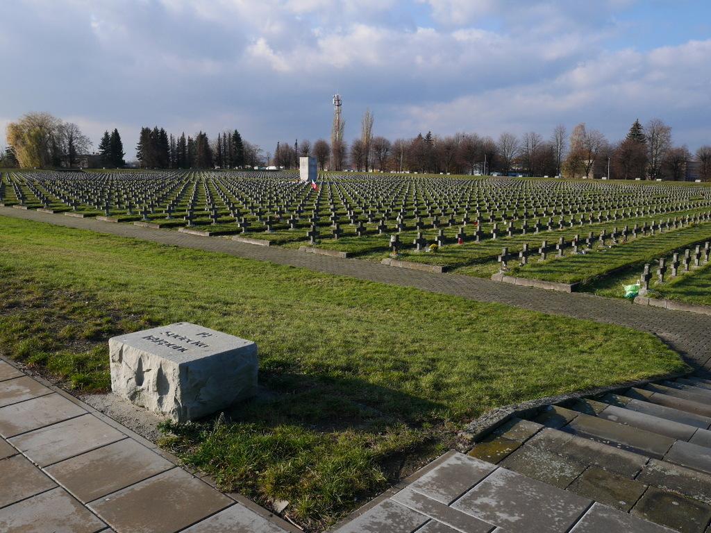 ゲルリッツ ズゴジェレツ ポーランド 捕虜収容所 Stalag VIII-A ポーランド第2軍 墓地 ポーランド第2軍の墓地 Cmentarz Żołnierzy II Armii WP @Zgorzelec