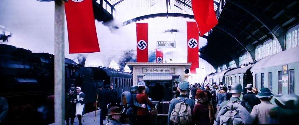 ゲルリッツ ドイツ ゲリウッド 映画 ロケ地 グランド ブダペスト ホテル 愛を読むひと ちいさな独裁者 やさしい本泥棒 イングロリアス バスターズ  映画『やさしい本泥棒』別れの駅のシーン @Görlitz