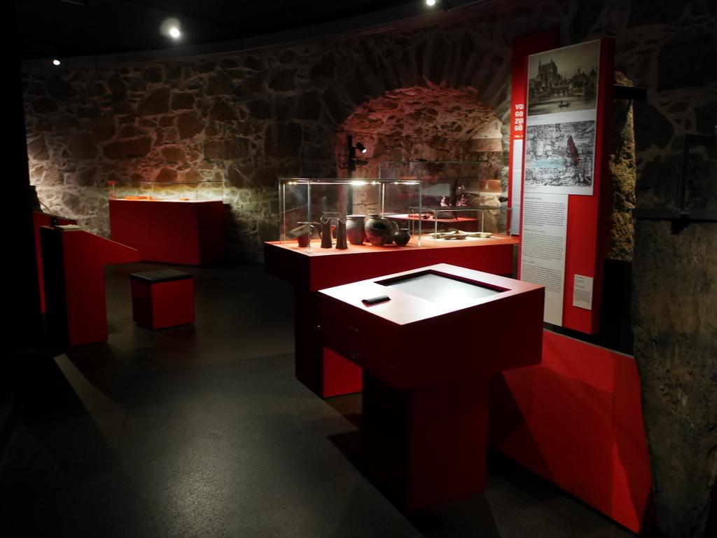 ゲルリッツ 博物館 ゲルリッツ歴史博物館 ドイツ中世都市 発展史 古代の展示室 @Kulturhistorisches Museum Görlitz