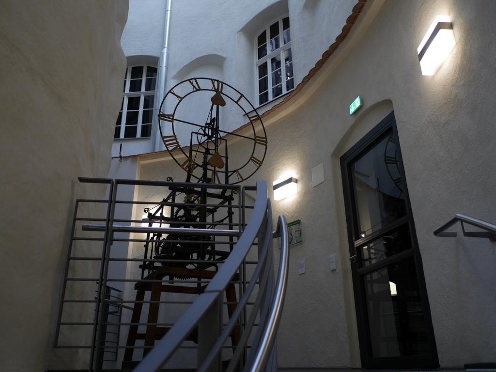 ゲルリッツ 博物館 ゲルリッツ歴史博物館 ドイツ中世都市 発展史 博物館中心部の螺旋階段 @Kulturhistorisches Museum Görlitz