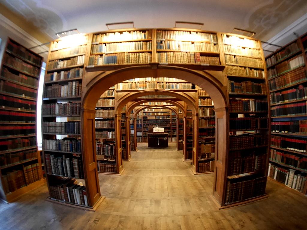 ゲルリッツ 博物館 ゲルリッツ歴史博物館  オーバーラウジッツ学術図書館  図書館内 @Oberlausitzische Bibliothek der Wissenschaften